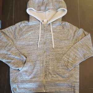 Gap sherpa lined hoodie